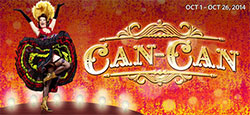 Can-Can banner